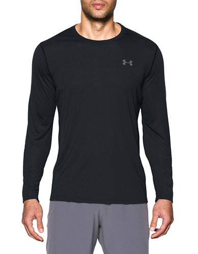Under Armour Threadborne Siro T-Shirt-BLACK-Small 89099187_BLACK_Small
