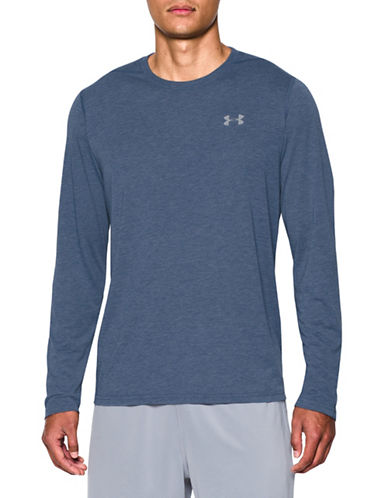 Under Armour Threadborne Siro T-Shirt-BLUE-Large 89099194_BLUE_Large