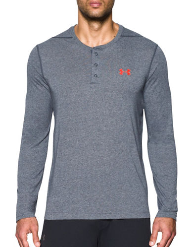Under Armour Threadborne Siro Henley-GREY-Medium 88989906_GREY_Medium