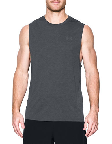 Under Armour Threadborne Siro Muscle Tank-BLACK-X-Large 89098893_BLACK_X-Large