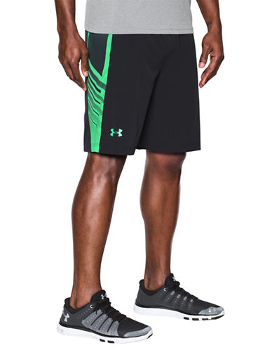 Under Armour SuperVent Woven Shorts-BLACK-Small 89098900_BLACK_Small