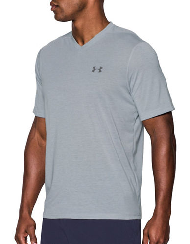 Under Armour Threadborne Siro T-Shirt-GREY-Large 88989982_GREY_Large