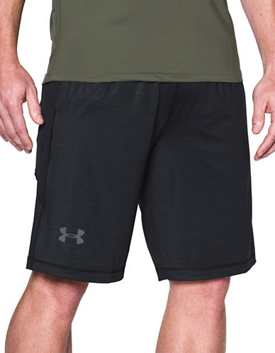 Under Armour Raid HeatGear Novelty Shorts-BLACK-Large 89269942_BLACK_Large