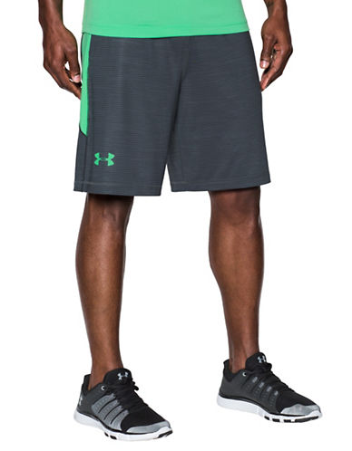 Under Armour Raid Printed Shorts-GREY-Small 89098780_GREY_Small