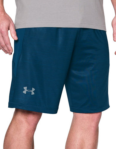 Under Armour UA Raid Printed 10-Inch Shorts-NAVY-X-Large 88989803_NAVY_X-Large
