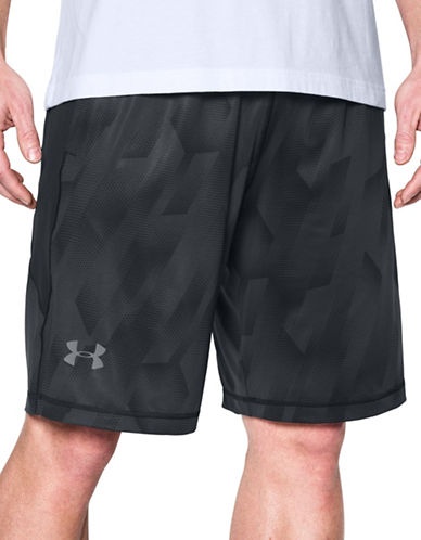 Under Armour Raid Printed Shorts-BLACK-Small 88989795_BLACK_Small