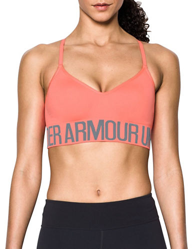 Under Armour Seamless Sports Bra-LONDON ORANGE-Large 89207298_LONDON ORANGE_Large