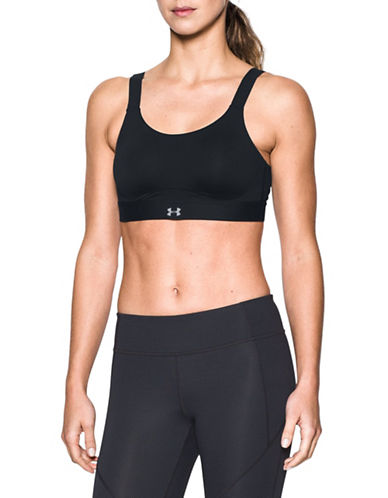 Under Armour Armour Shape High Impact Bra-BLACK-38DD