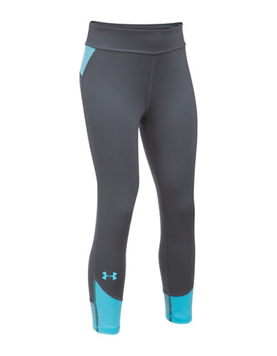 Under Armour Finale Capri Leggings-GREY-X-Large 89102372_GREY_X-Large