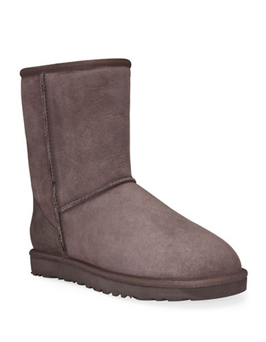 Ugg Classic Short II Boots-CHOCOLATE-7
