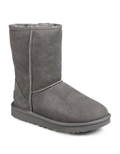 Ugg Classic Short II Boots-GREY-5