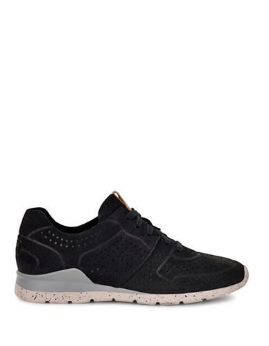 Ugg City Leather Sneakers-BLACK-6