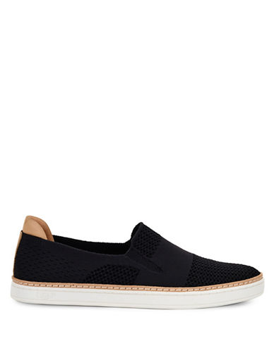 Ugg Rooney Knit Loafers-BLACK-8