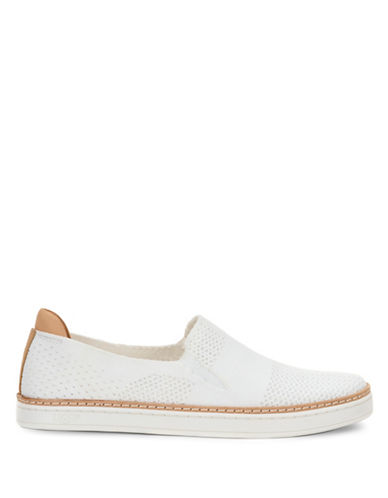 Ugg Rooney Knit Loafers-WHITE-10