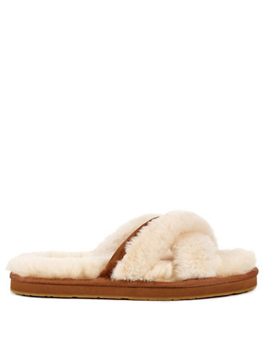 Ugg Abela Suede Slippers-NATURAL-5