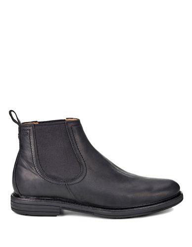 Ugg Baldvin Chelsea Boots-BLACK-9