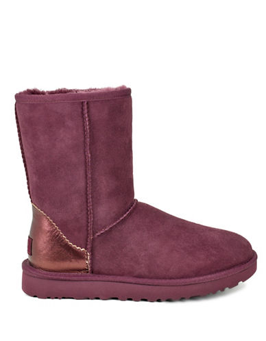 Ugg Short II Leather Booties-PORT-10