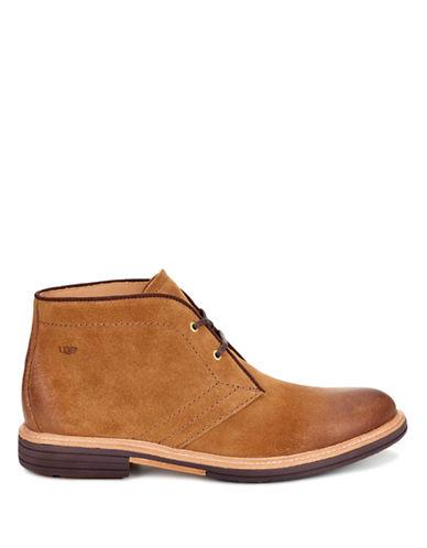 Ugg Dagmann Suede Chukka Boots-BROWN-9