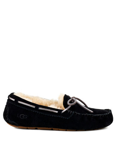 Ugg Dakota Moccasins-BLACK-8