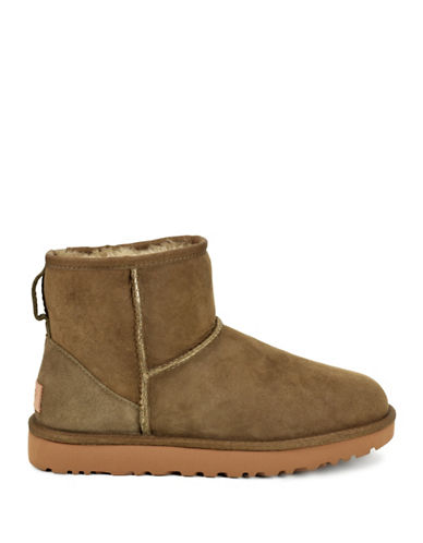 Ugg Mini II Suede Booties-SPRUCE-11