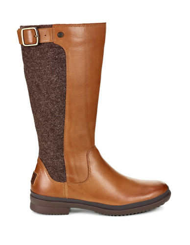 Ugg Janina Mid-Calf Boots-CHESTNUT-8