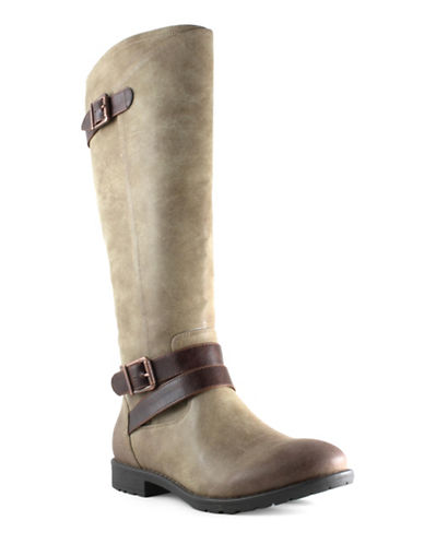 Euro Soft Edeline Tall Buckle Boots-TAN-6