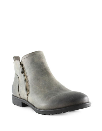 Euro Soft Elyse Short Booties-GREY-6
