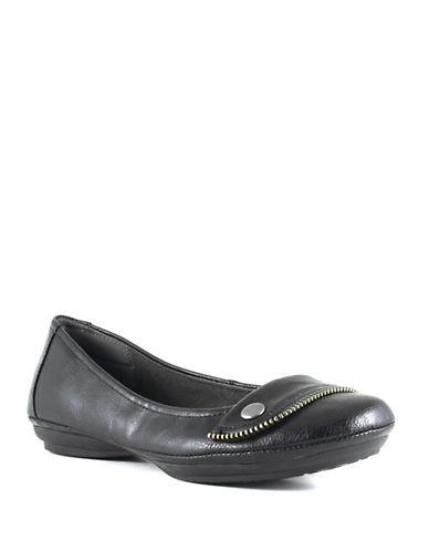 Euro Soft Sena Cotton Ballet Flats-BLACK-6