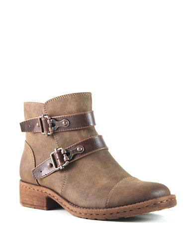 Euro Soft Sarina Booties-BROWN-9.5