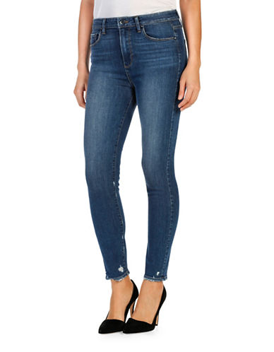 Paige Margot High-Rise Ankle Jeans-BLUE-27