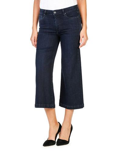 Paige Lori Harper Ultra Cropped Flare Jeans-BLUE-25