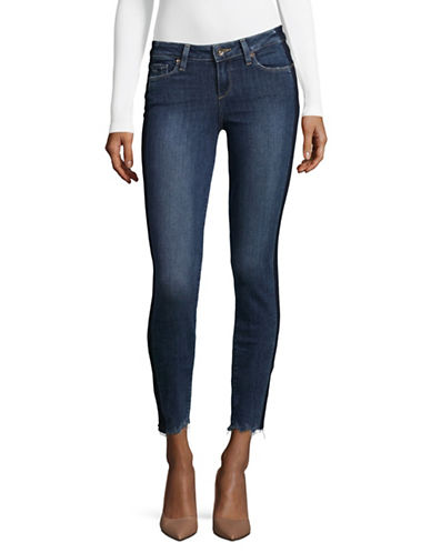 Paige Verdugo Side-Stripe Jeans-BLUE-27