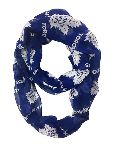 Forever Collectibles Toronto Maple Leafs Infinity Scarf-NAVY-One Size