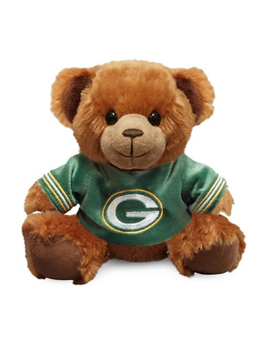 Forever Collectibles NFL Green Bay Packers Jersey Sweater Bear-GREEN-One Size