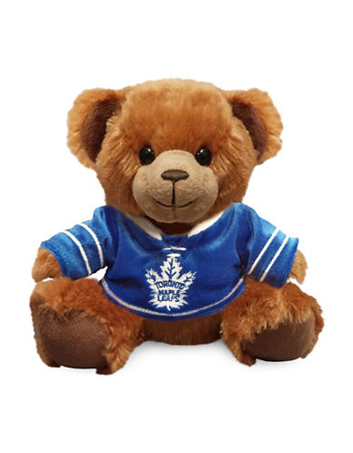 Forever Collectibles NHL Toronto Maple Leaf Jersey Sweater Bear-BLUE-One Size
