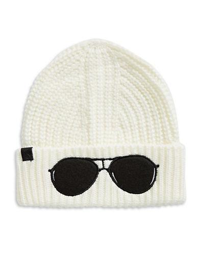 Karl Lagerfeld Paris Sunglasses Tuque-CREAM-One Size