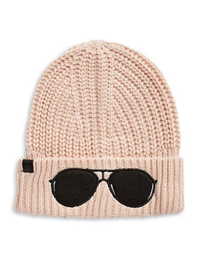 Karl Lagerfeld Paris Sunglasses Tuque-BLUSH-One Size