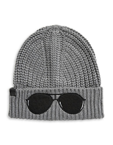 Karl Lagerfeld Paris Sunglasses Tuque-GREY-One Size