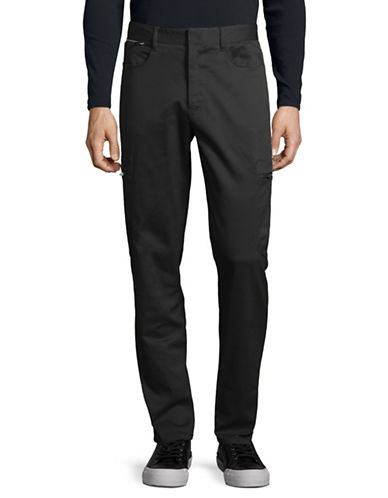Karl Lagerfeld Cargo Pants-BLACK-30