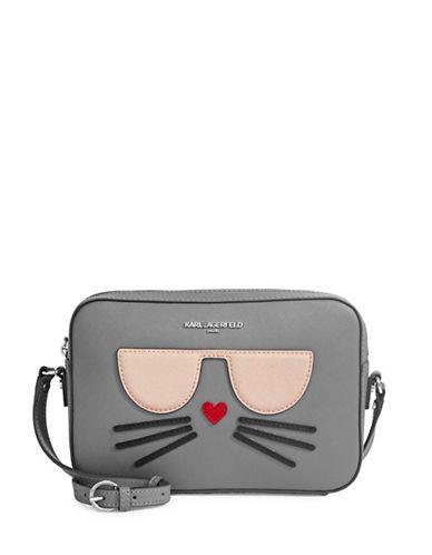 Karl Lagerfeld Paris Choupette Crossbody-ASPHALT-One Size