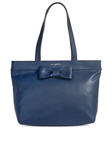 Karl Lagerfeld Paris Buelah Tote Bag-COBALT-One Size