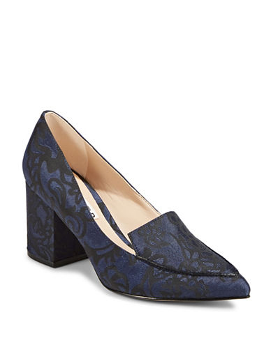 Karl Lagerfeld Paris Aressa2 Loafer Pumps-BLUE-5.5