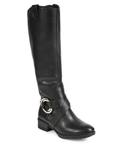 Karl Lagerfeld Paris Muret3 Knee-High Boots-BLACK-5.5