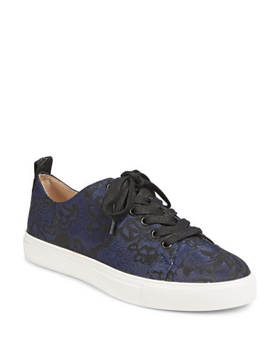 Karl Lagerfeld Paris Evron2 Jacquard Sneakers-NAVY BLACK-6