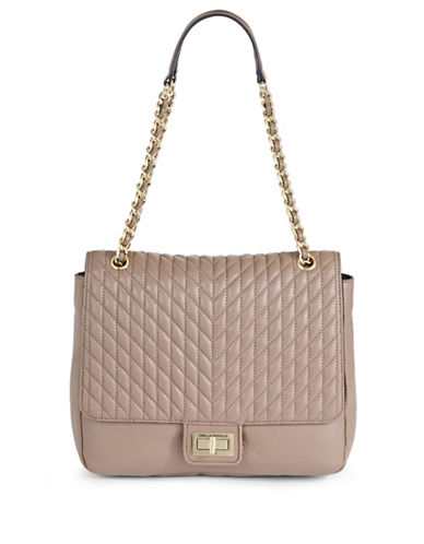 Karl Lagerfeld Paris Agyness Tote-BEIGE-One Size