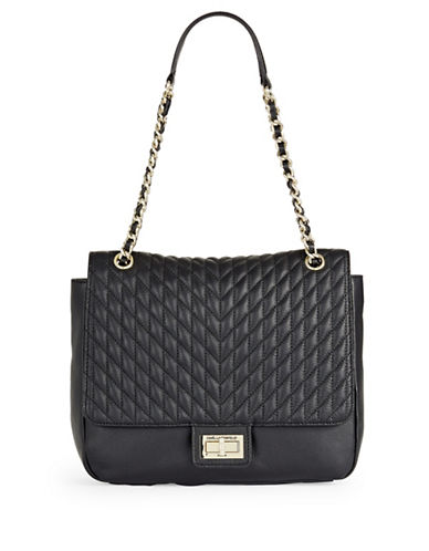 Karl Lagerfeld Paris Agyness Tote-BLACK-One Size