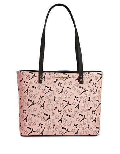 Karl Lagerfeld Paris Karl Maybelle Tote Bag-PINK-One Size