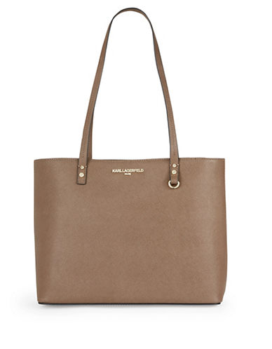 Karl Lagerfeld Paris Maybelle Tote Bag-BEIGE-One Size