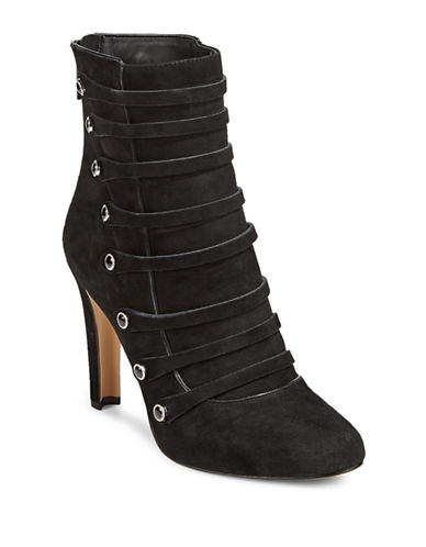 Karl Lagerfeld Paris Strappy Booties-OXFORD-6.5