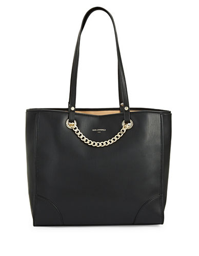 Karl Lagerfeld Paris Lucille Tote-BLACK-One Size